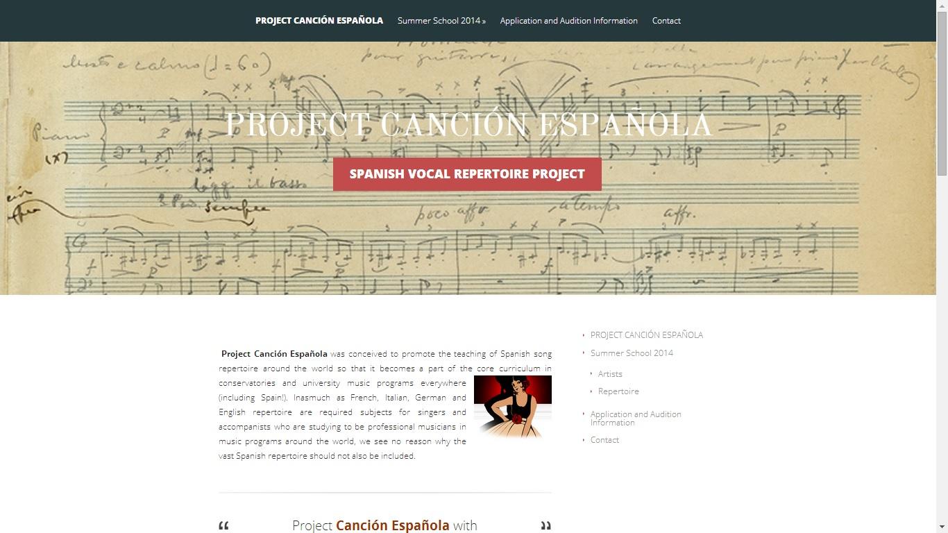 Project Canción Española