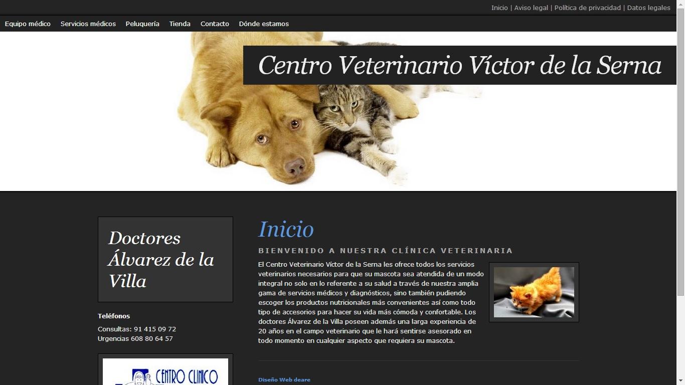 Centro Veterinario Víctor de la Serna